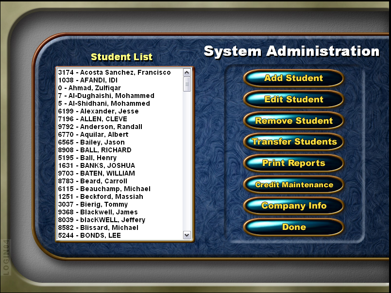 Screenshot showing instructions on student transfer Step 2